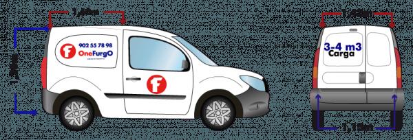 alquiler de furgoneta mini