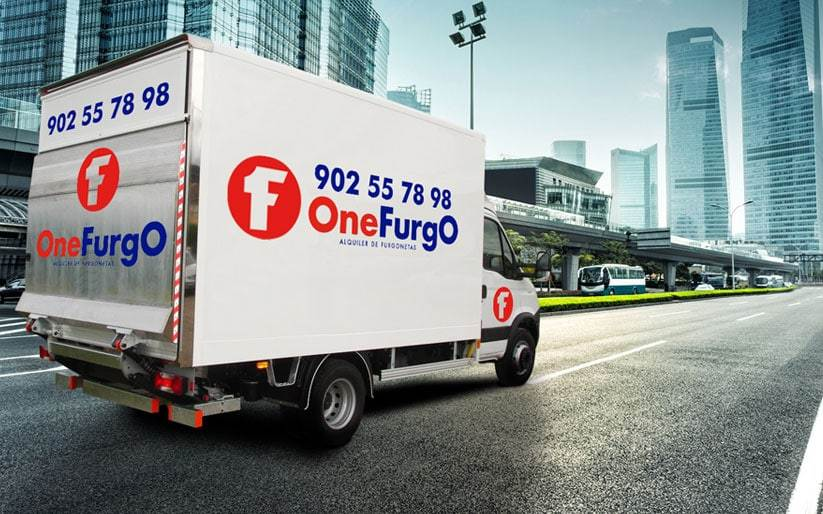 Alquiler de furgonetas sin conductor - Inicio