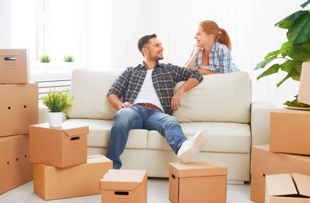 Cinco consejos para mudarte con tu pareja