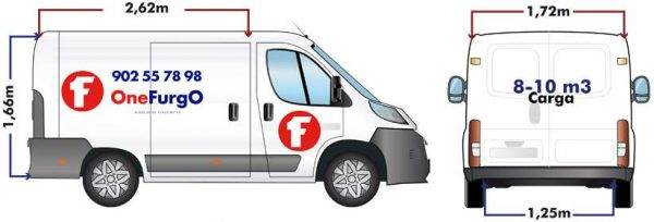 alquiler de furgoneta mediana