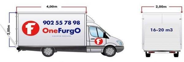 alquiler de furgoneta con trampilla carrozado