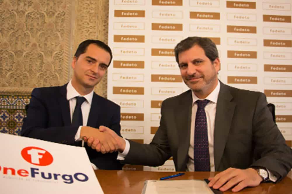 Onefurgo Toledo y Fedeto firman un convenio