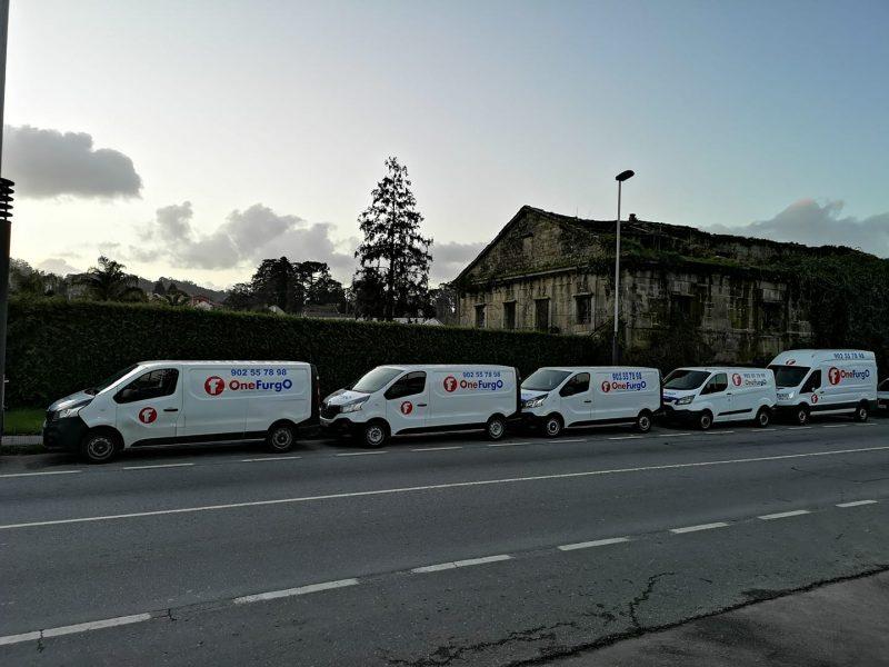Descubre nuestra flota de furgonetas de alquiler en Madrid
