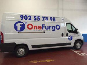 Alquiler de furgoneta con equipo de frío en Málaga